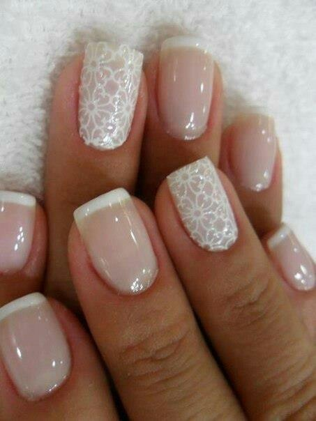 Babys Breath Flower Nails