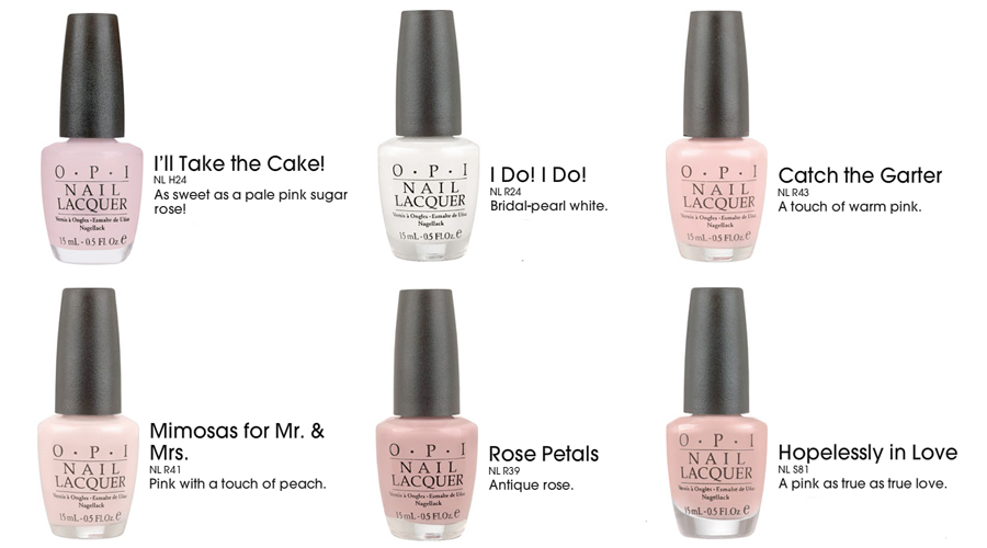 Opi Funny Bunny Born To Be A Bride