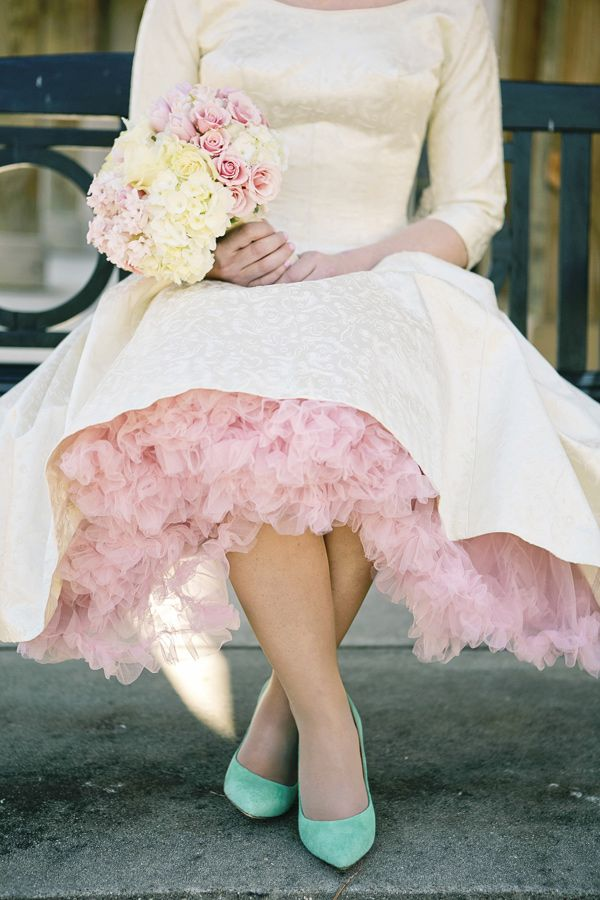 Throwback Wedding Style The 1950s Born To Be A Bride
