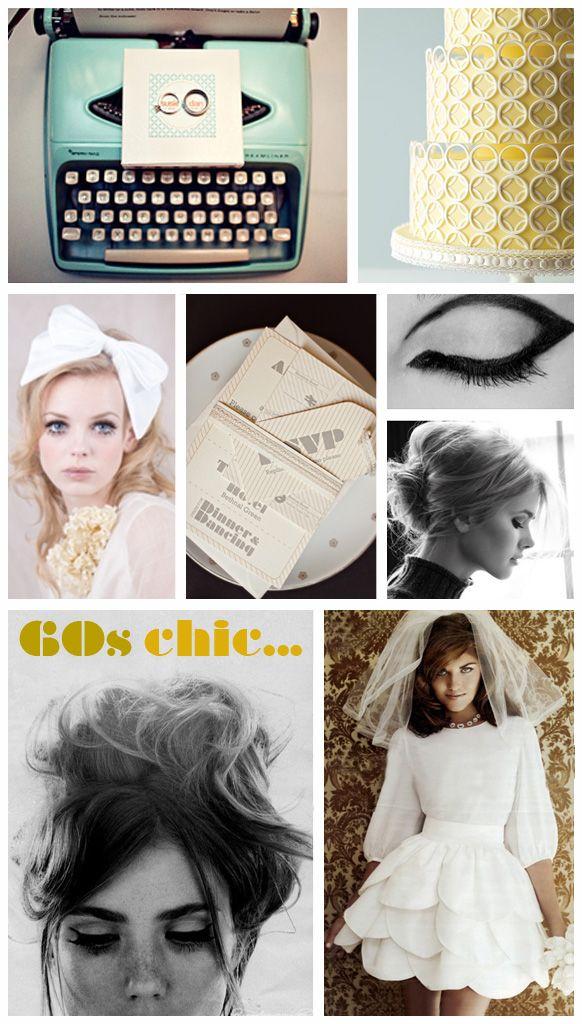 Mod 50s Wedding Dress