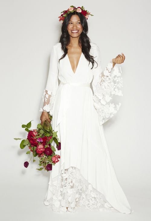 Throwback Wedding Style: the 1970\'s | Born to Be a Bride